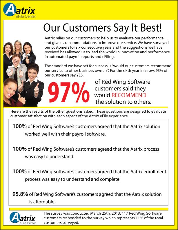 Aatrix Customer Survey
